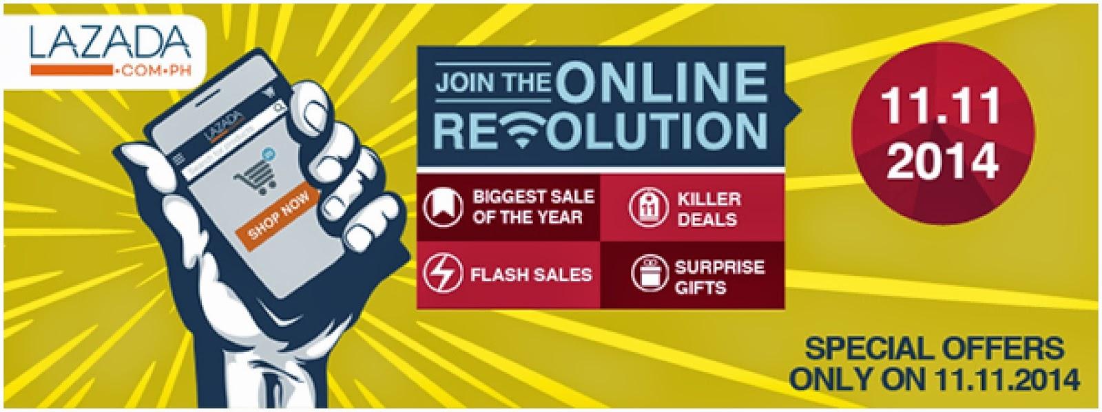 Lazada Online Revolution 2014