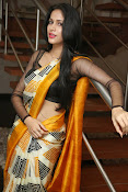Lavanya Tripathi glam pics in saree-thumbnail-15
