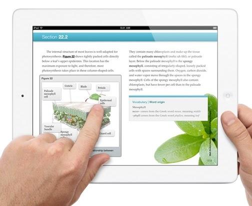 The Yellin Center Blog  Apple Brings Digital Textbooks To