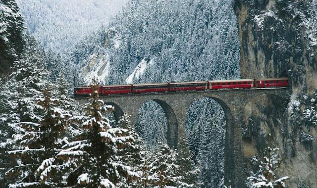kanyonda tren
