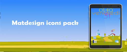 Matdesign icons pack Apk v1.0.1