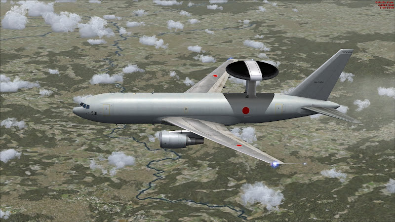 E-767 Airborne Warning and Control System