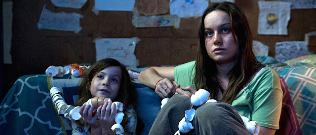 "Jacob Tremblay and Brie Larson, in ""Room"""