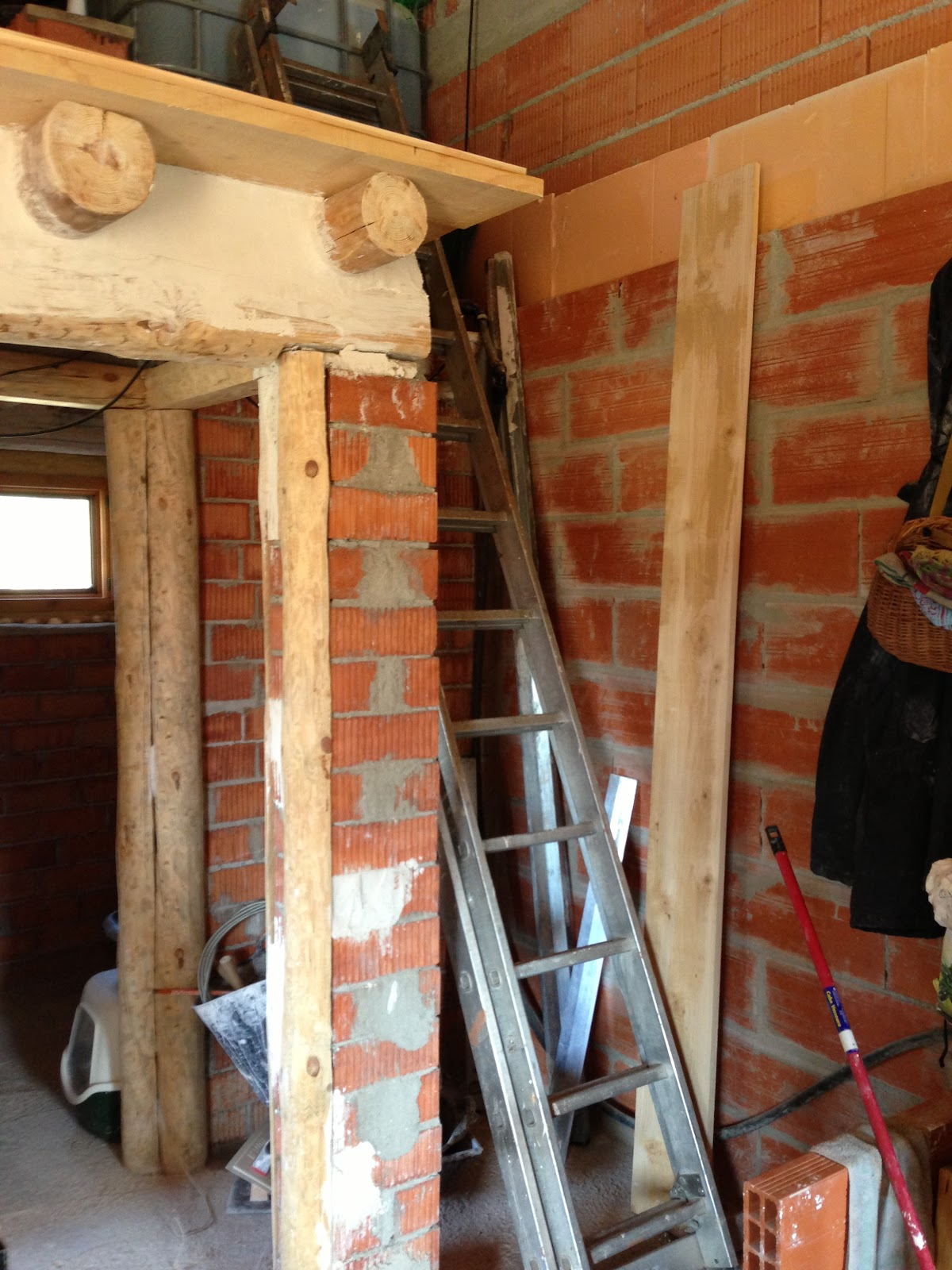 Baño Bajo Escalera Plano:CAN CIGALETA: Obras La escalera I PARTE