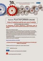 Plataforma on line Red de Información Juvenil del Ayuntamiento de Madrid