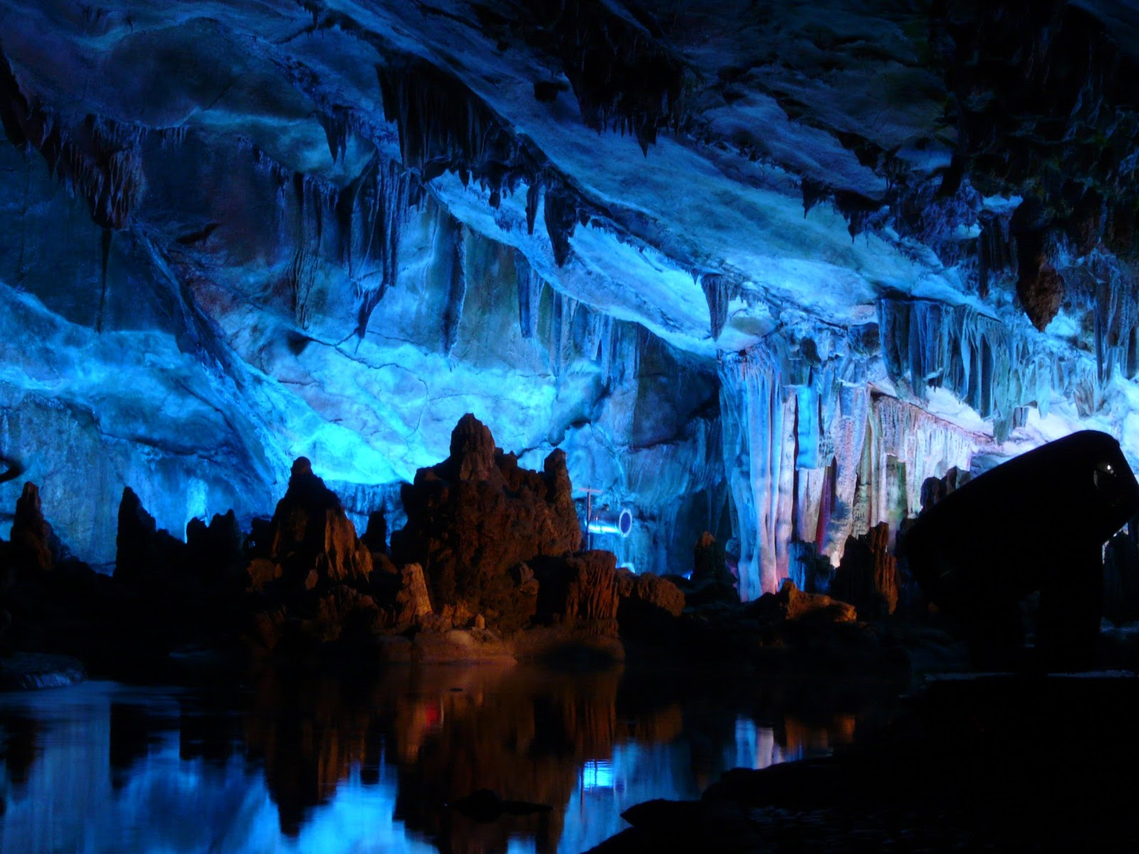 our amazing planet earth reed flute cave