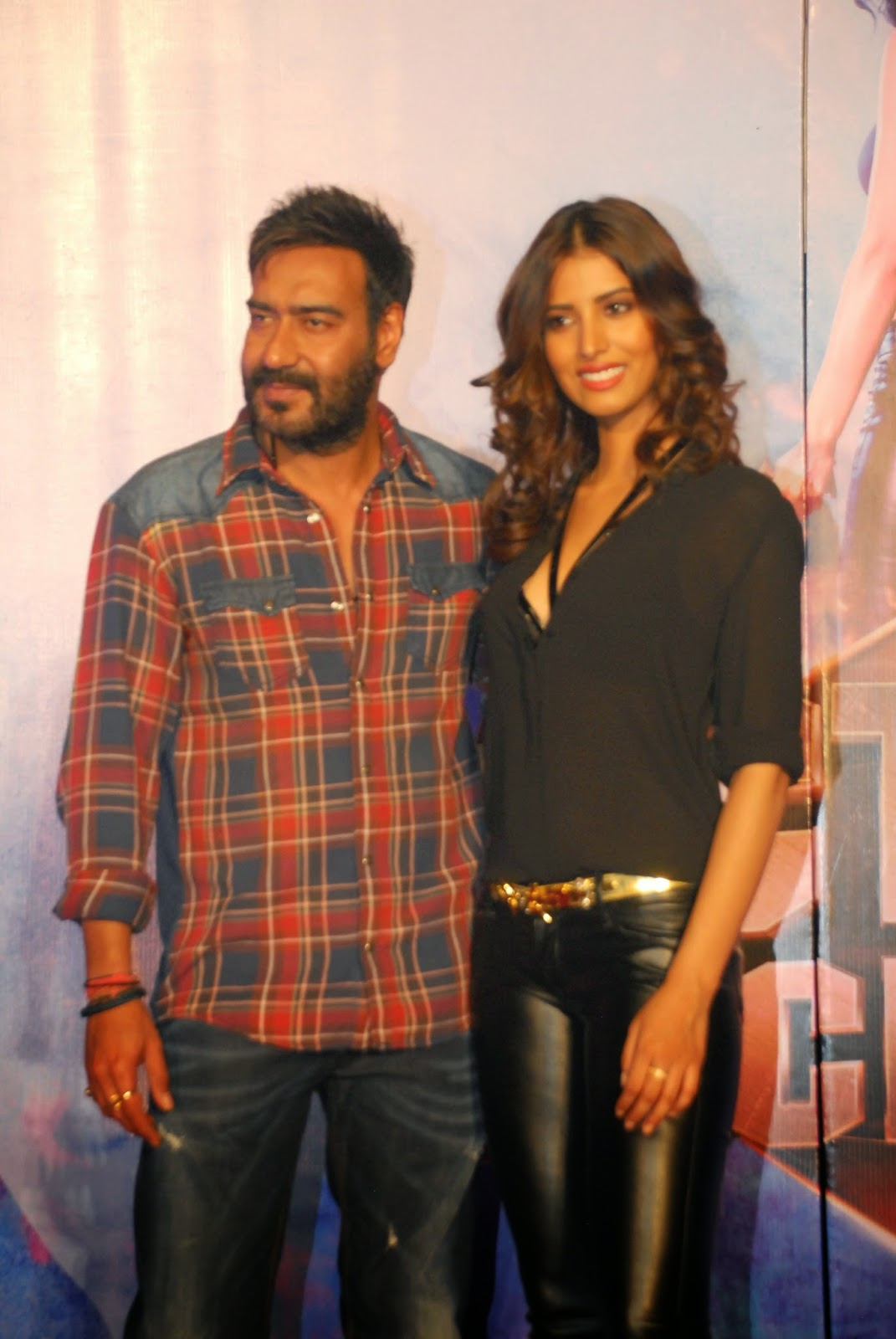 Ajay Devgan at Gangster Baby song by  Jackson movie launch gallery