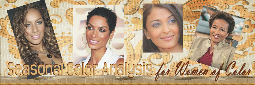 Seasonal Color Analysis for Women of Color