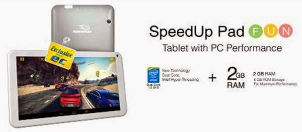 Harga Tablet SpeedUp Pad Fun