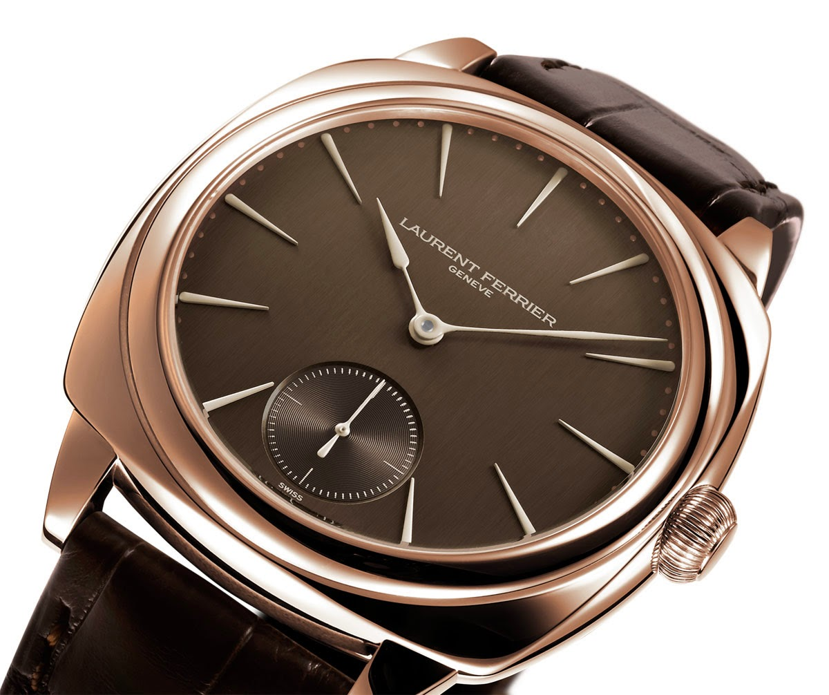 laurent ferrier chocolate anniversary series time and