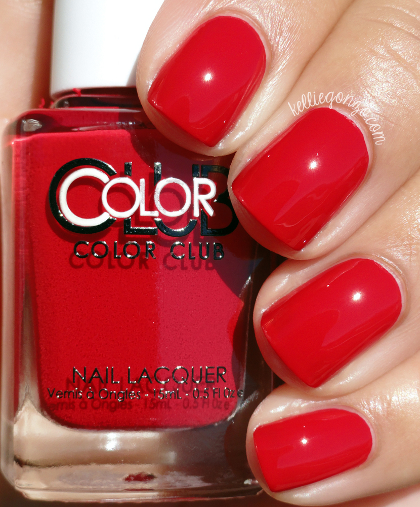 Color Club Red-Handed Love Tahiry