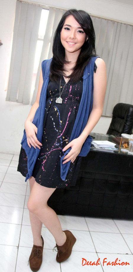Gaya Busana Gisel Idol Terbaru 2012