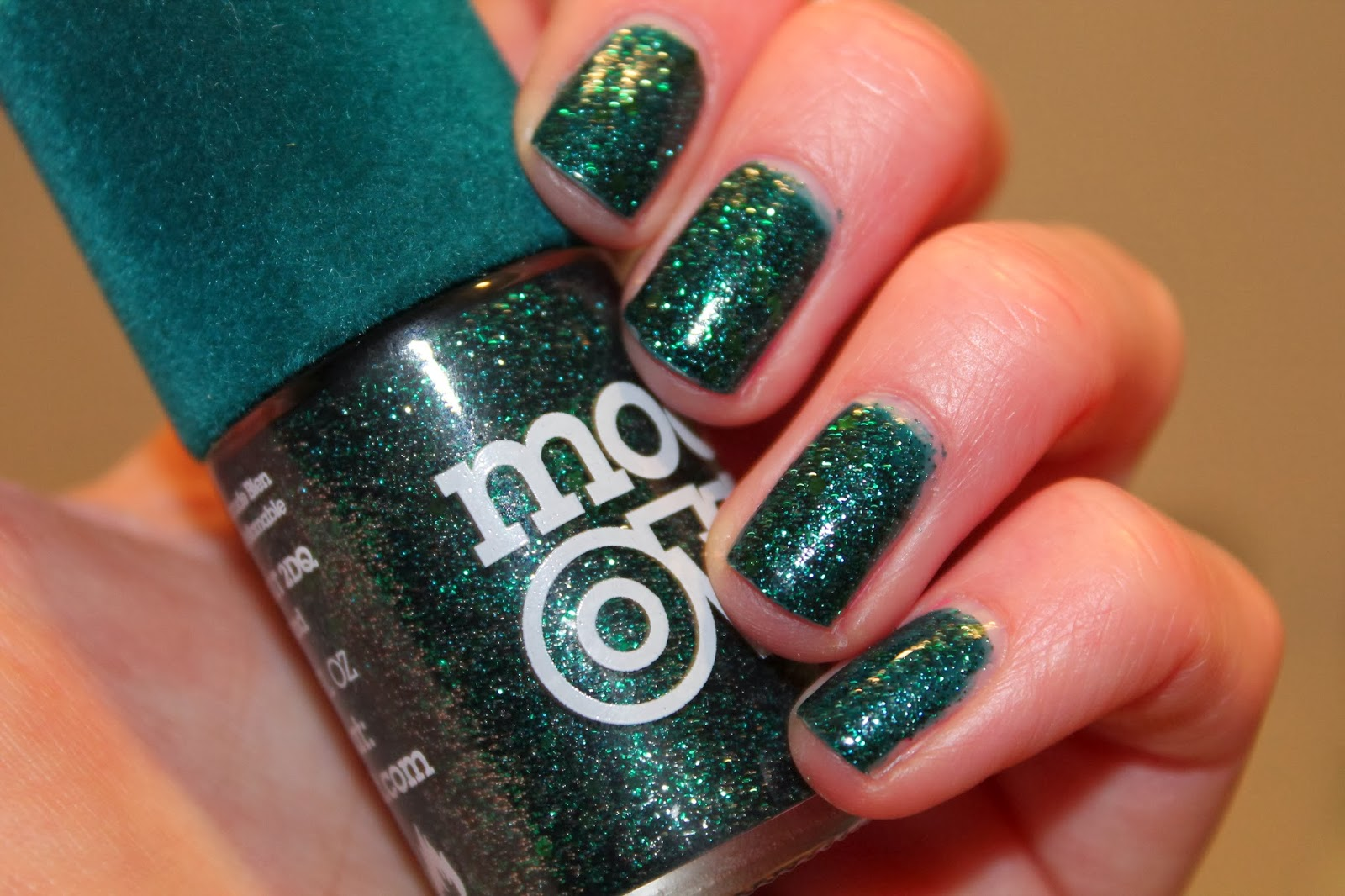 Model's Own - Velvet Goth collection - Absinthe Nail Polish Swatch