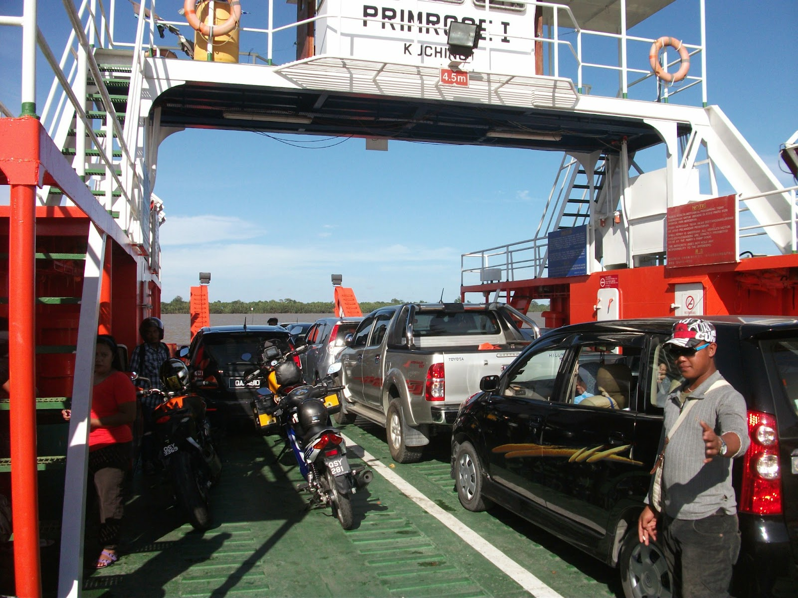 Primrose I - the Batang Saribas ferry