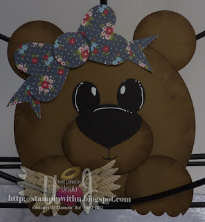 Bear Card Largue Punch Art