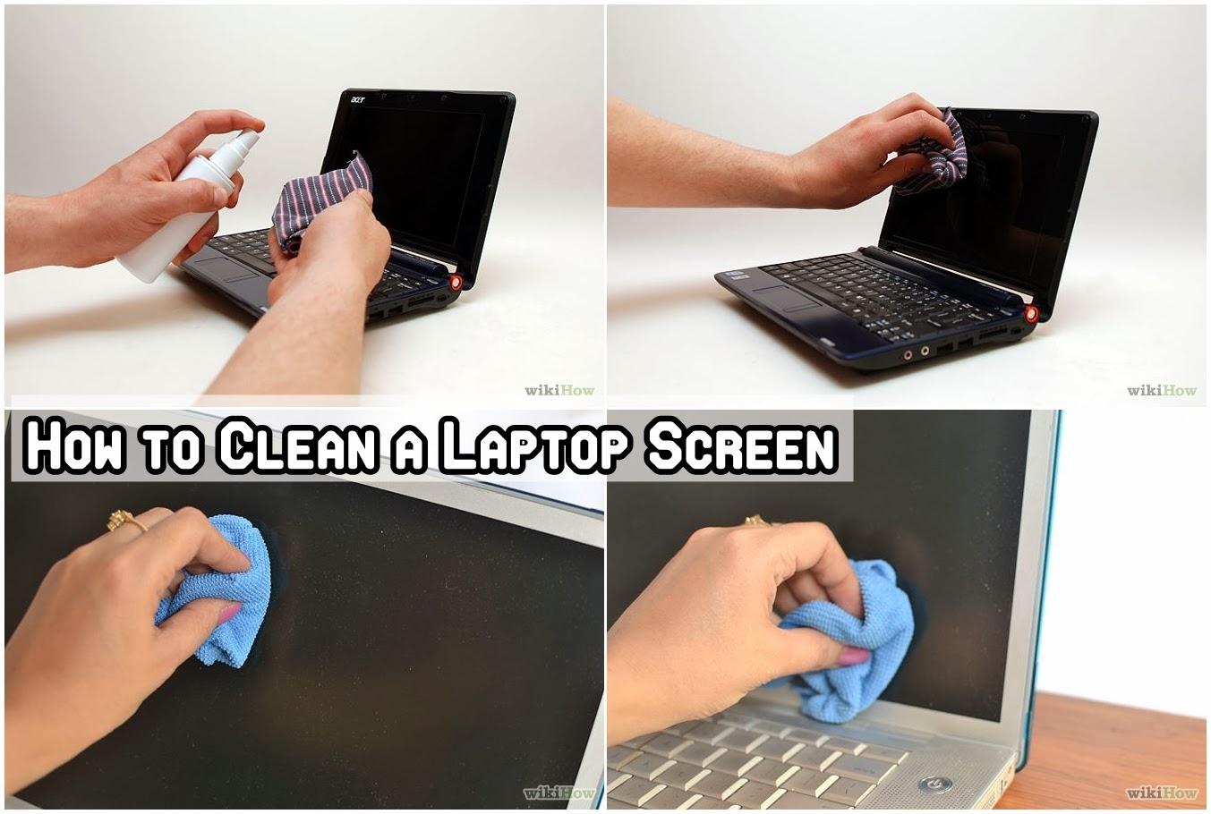 Как почистить экран ноутбука в домашних условиях? 91