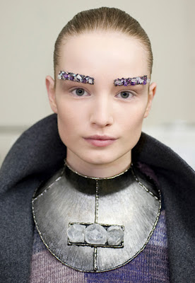 Jeweled Eyebrows