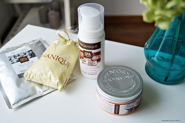 Rozdanie kosmetyków Organique, rozdanie na blogu