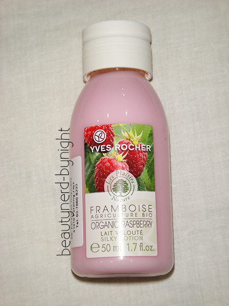 Yves Rocher Raspberry Body Lotion