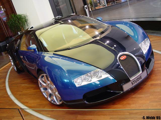 blue bugatti veyron wallpaper