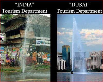 india tourism department vs dubai tourism department