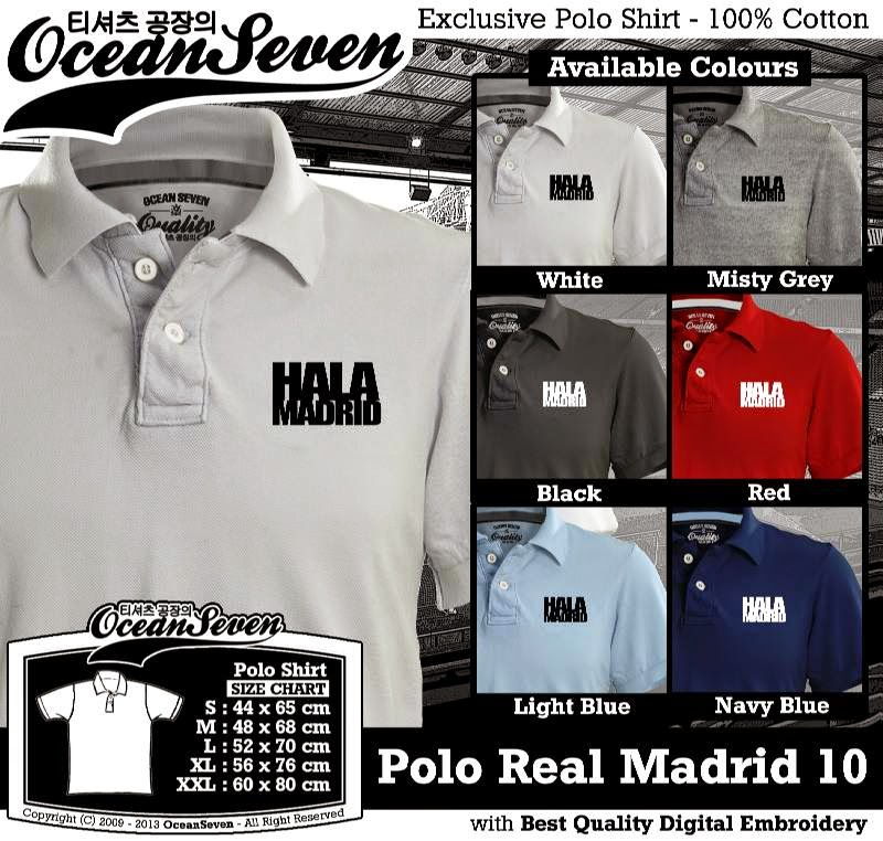 Kaos Polo Real Madrid 10