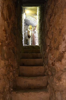 Neamt Citadel- Secret passage to the Chamber of Lady