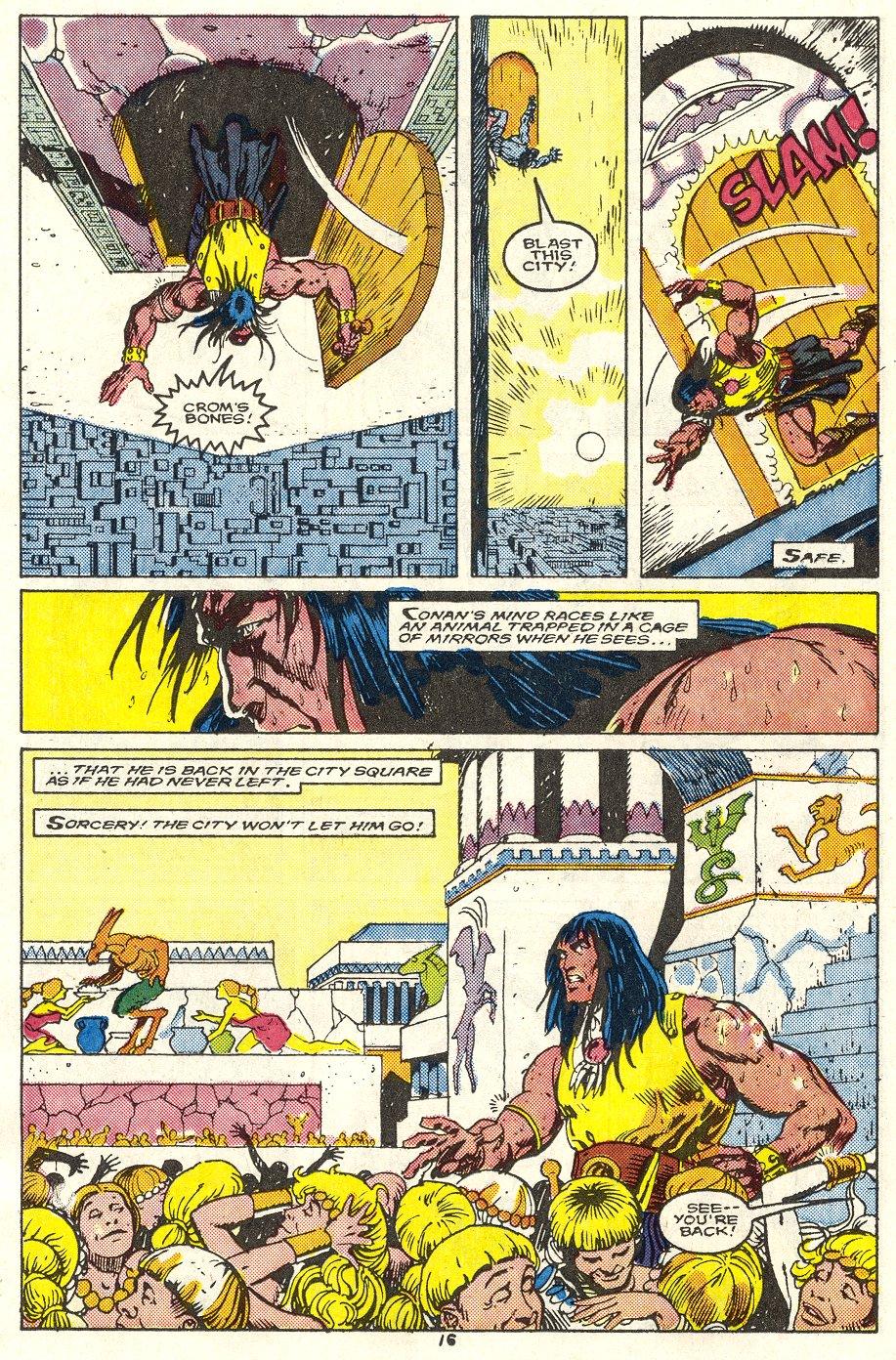 Conan the Barbarian (1970) Issue #214 #226 - English 13