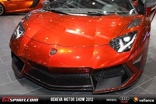 Geneva 2012 Mansory Lamborghini Aventador LP 700-4