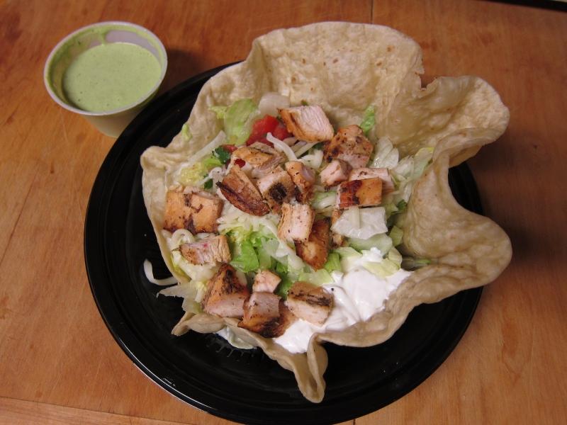 Review: El Pollo Loco - Chicken Tostada Salad | Brand Eating