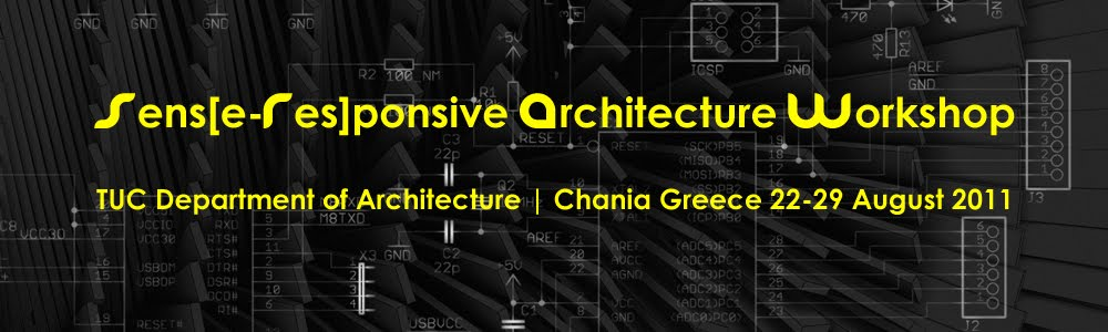 Sens[e-Res]ponsive Architecture Workshop