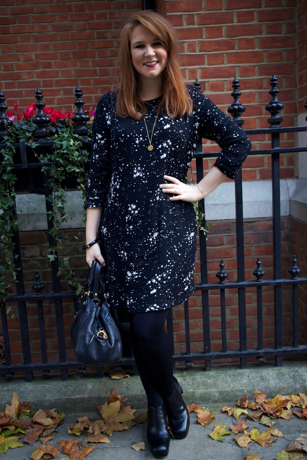 savannah miller debenhams star print dress