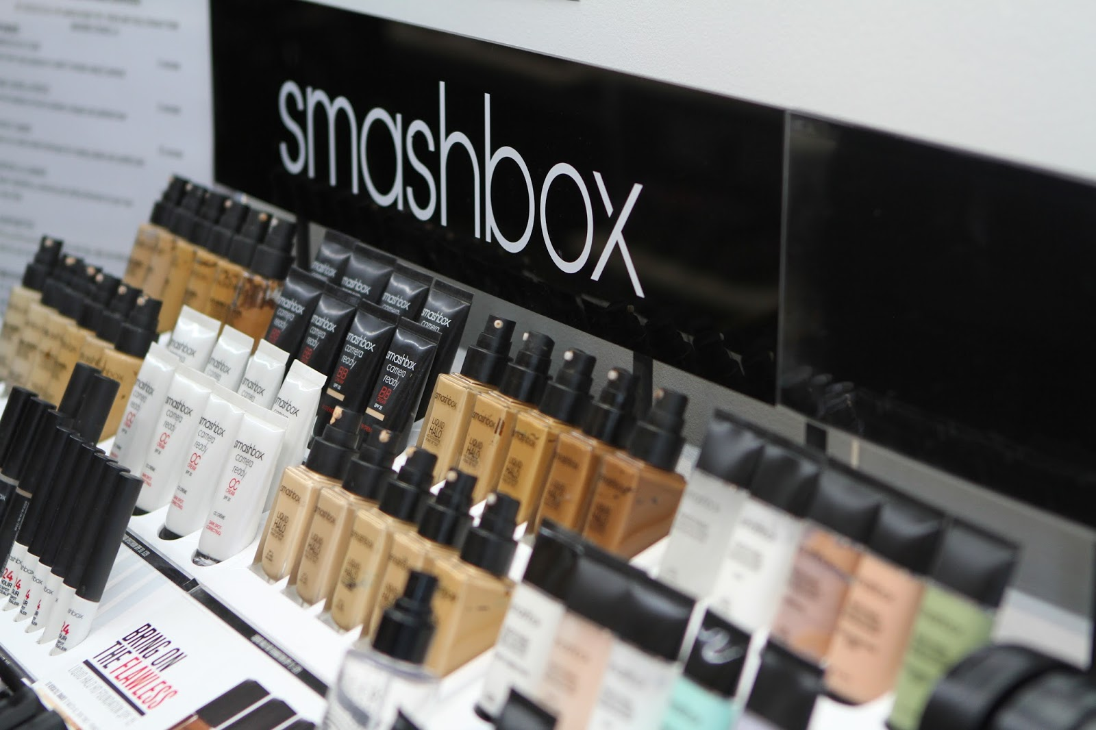 Smashbox foundations