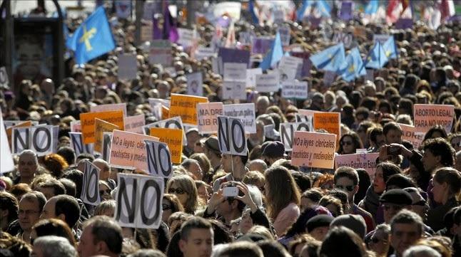 manifestación pro aborto