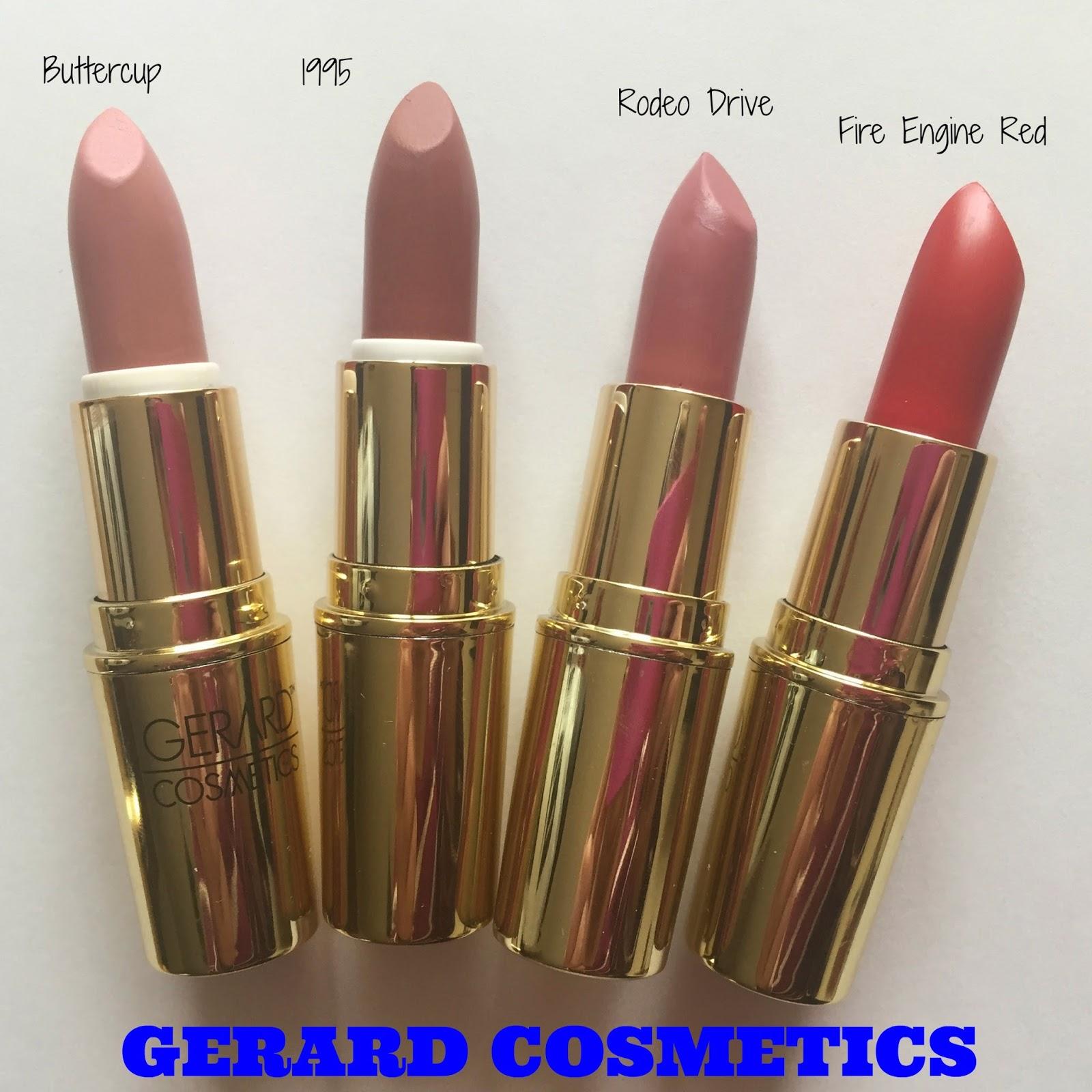 Red Fire Engine Lipstick Gerard Cosmetics, Red, Free ...