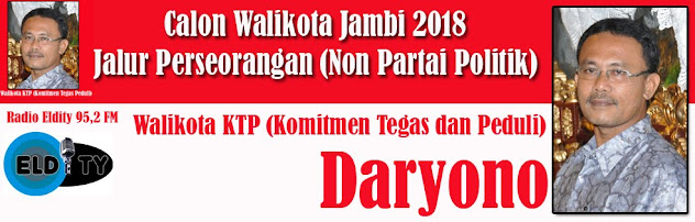 Daryono Menuju Walikota KTP