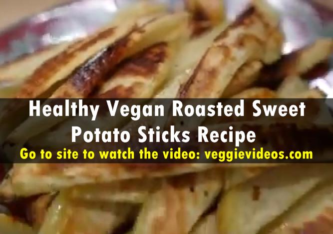 Roasted Potato Sticks Recipe