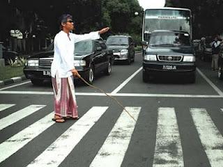 Lelaki buta (ilustrasi LTM)
