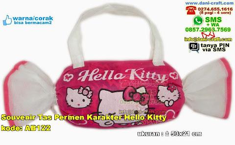 Souvenir Tas Permen Karakter Hello Kitty