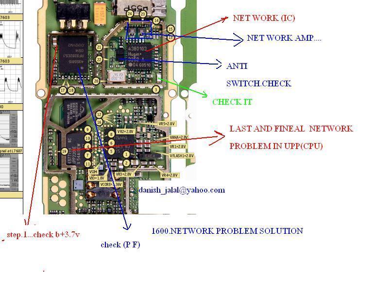 mobile repairing solutions nokia 1600 network problem no network rh kaleemgsm blogspot com