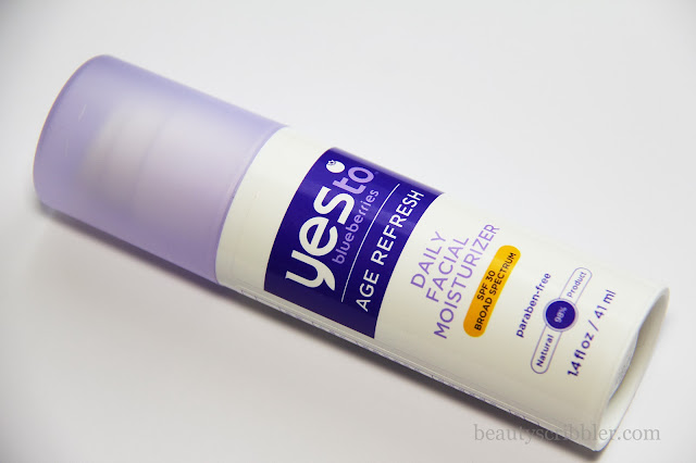 Yes to Blueberries Age Refresh Daily Facial Moisturizer SPF 30