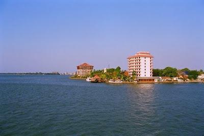 Gunda Island in Kochi