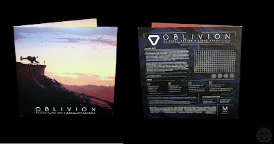 Mondo Exclusive Oblivion Soundtrack by M83 Packaging by Kilian Eng