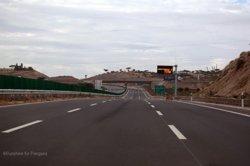 new highway in Ethiopia