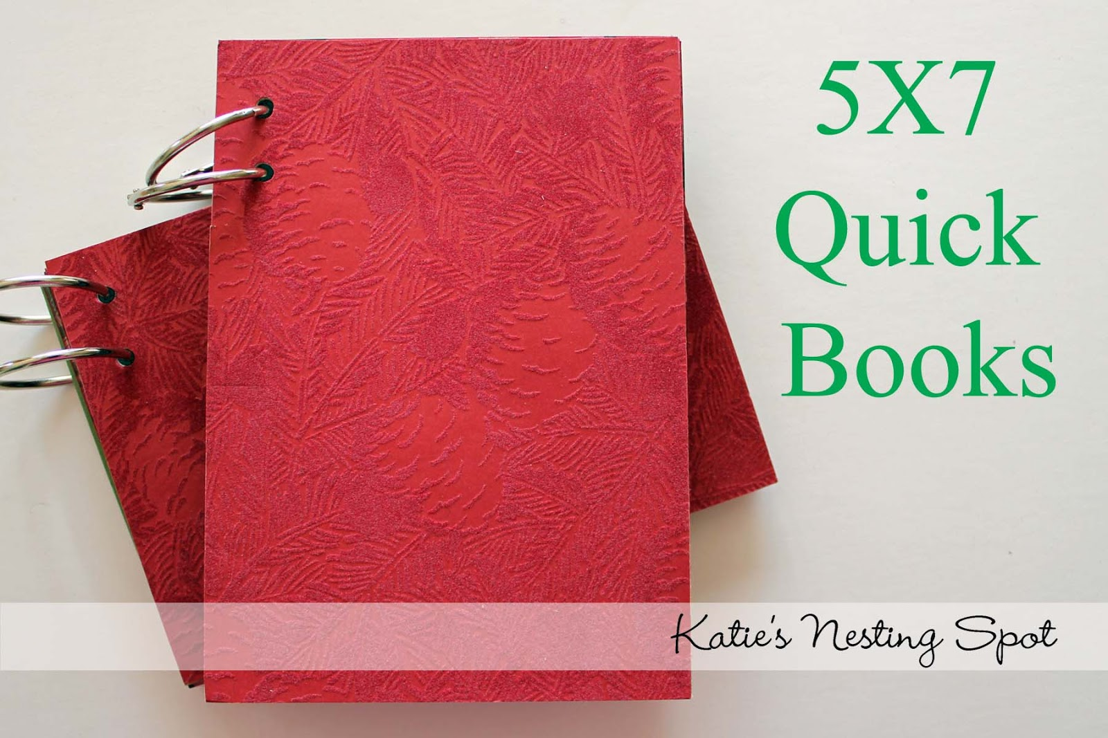 How To Make A Book Quick : Katie s nesting spot quick mini books making a easy
