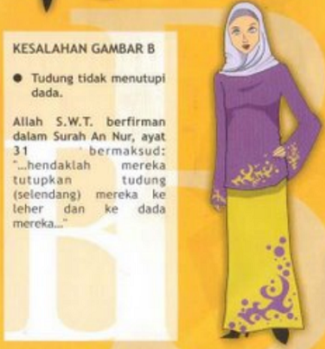 Beberapa Kesalahan dalam Menggunakan Hijab