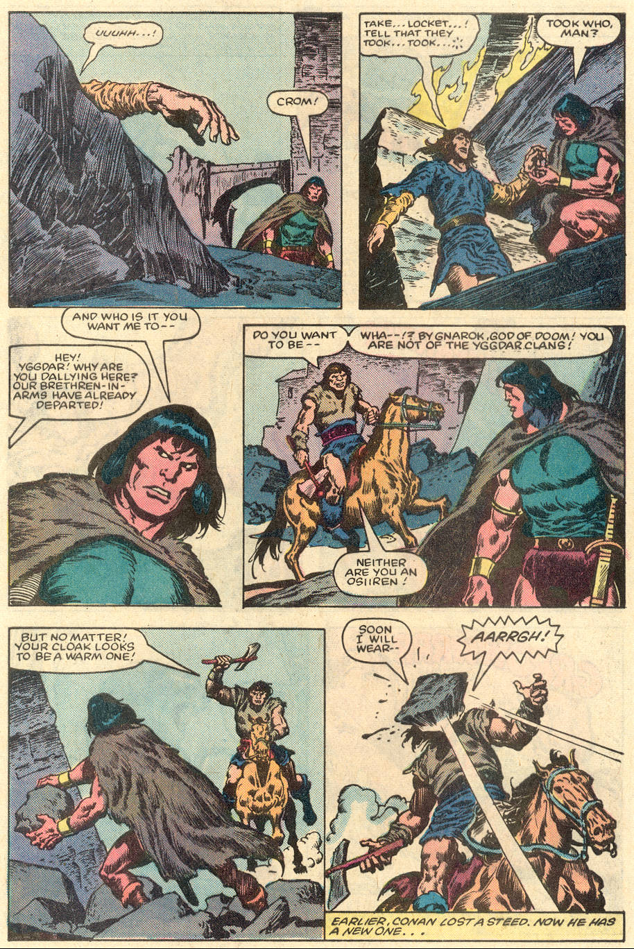 Conan the Barbarian (1970) Issue #151 #163 - English 7