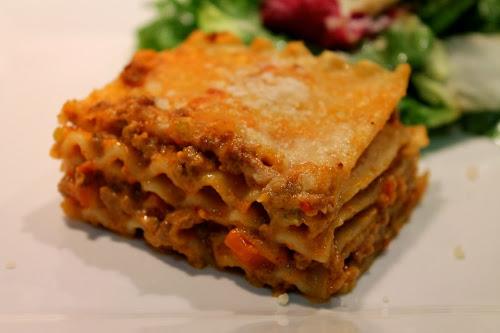 Bolognesa Lasagna, Marcella Hazan Recipe