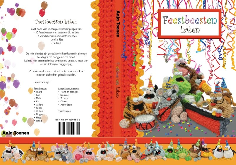 Mijn 14e boek: Feestbeesten haken