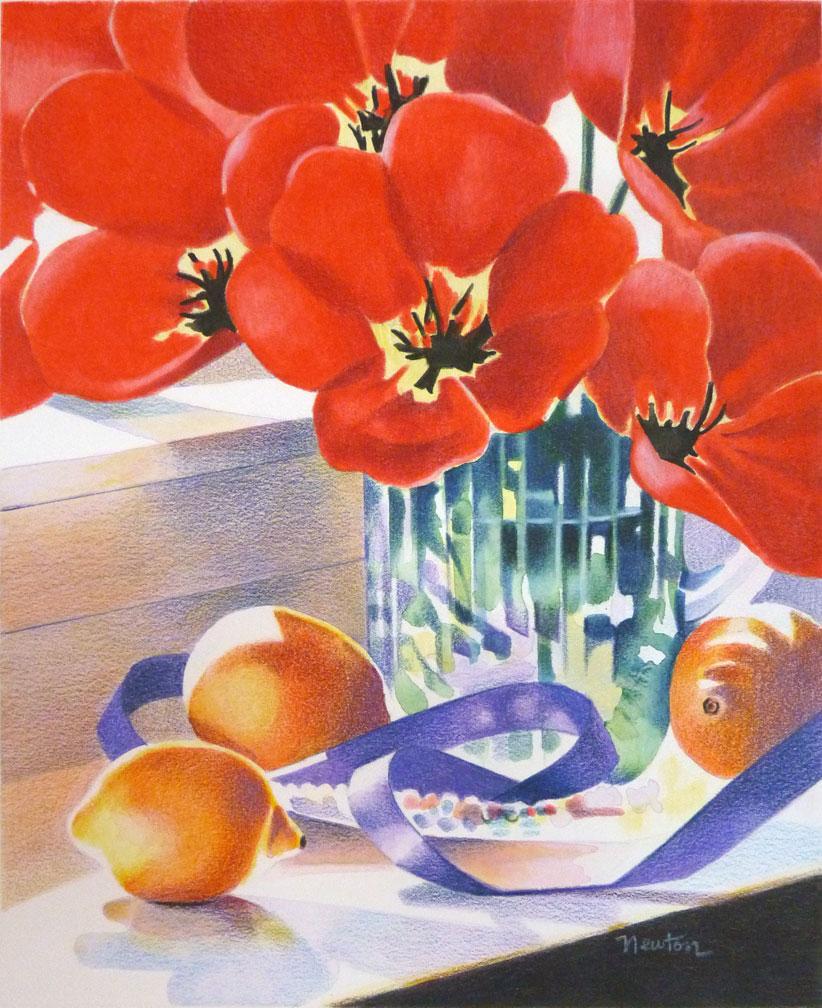 Watercolor books for sale - Fullbloom2_2003_11 25x9web Jpg